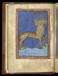 The Beast of the Apocalypse, in 'The Royal Books of Virtues and Vices'